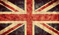 The United Kingdom grunge flag. Item from my vintage, retro flags collection - PhotoDune Item for Sale
