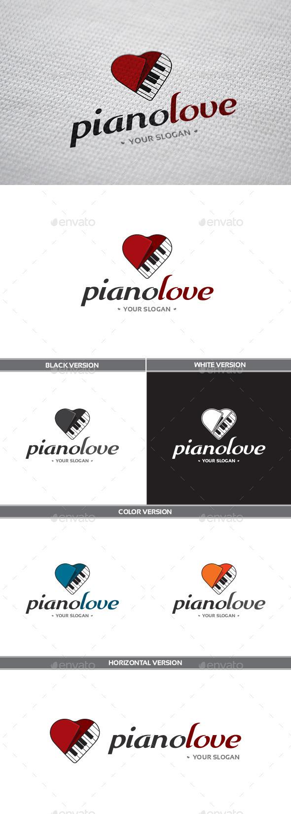 PianoLove Logo