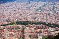 Barcelona cityscape from Tibidabo - PhotoDune Item for Sale
