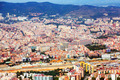 Aerial view of  residential district. Barcelona, Catalonia - PhotoDune Item for Sale