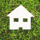 paper house on grass - PhotoDune Item for Sale