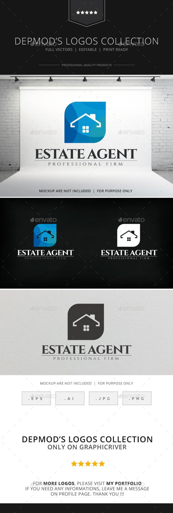 GraphicRiver Estate Agent Logo 8859220
