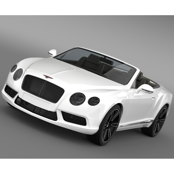 3DOcean Bentley Continental GTC V8 2013 8859390