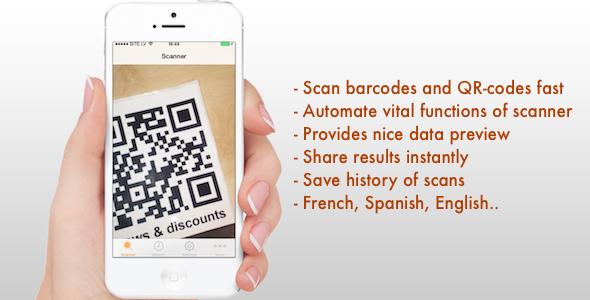 CodeCanyon QR-code & Barcode Reader 8859433