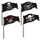 Vector Set of Cartoon Pirate Flags - GraphicRiver Item for Sale
