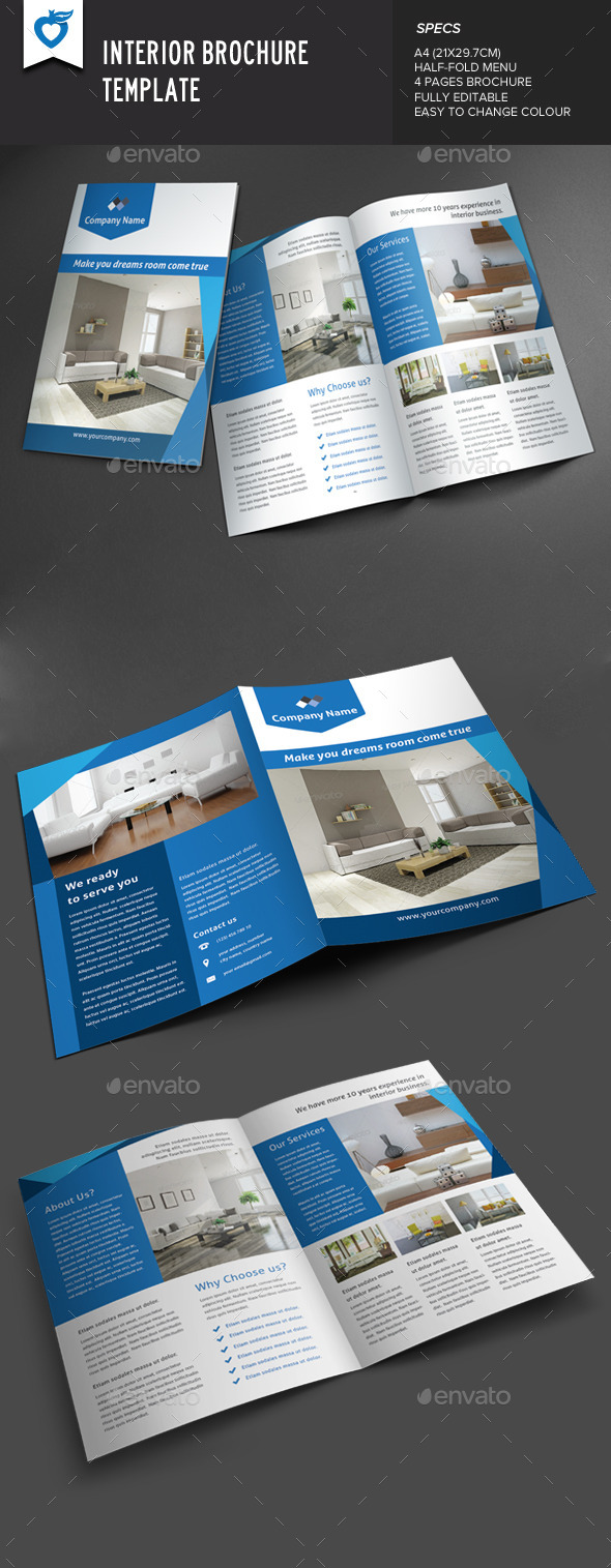 GraphicRiver Interior Brochure 8859593