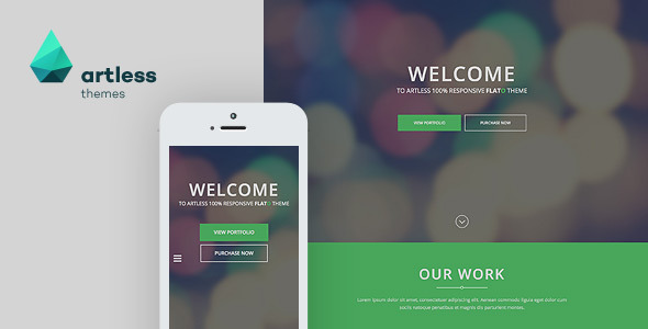 Flato - Parallax One Page HTML Template