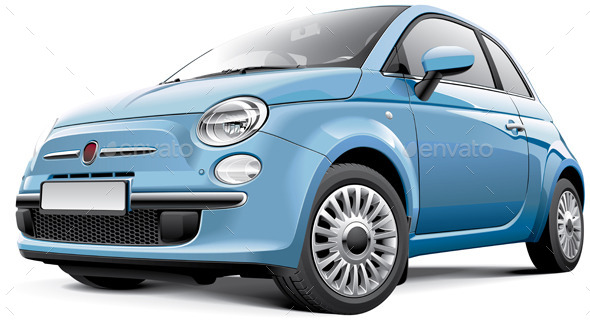 GraphicRiver Italian City Car 8859895