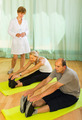 Medical staff with senior people at gym - PhotoDune Item for Sale