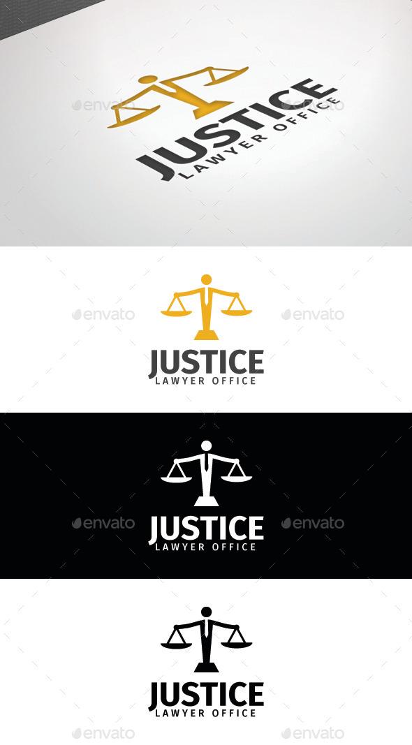 GraphicRiver Justice Logo Template 8859897