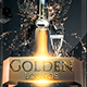 Golden Lounge Flyer 2nd Edition - GraphicRiver Item for Sale