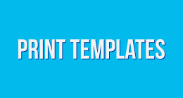 PRINT TEMPLATES ( FLYERS AND POSTERS )