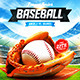 Baseball League Series Flyer - GraphicRiver Item for Sale