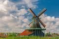 Windmills in Zaanse Schans, Holland, Netherlands - PhotoDune Item for Sale