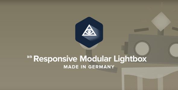 CodeCanyon Responsive Modular Lightbox 8860599