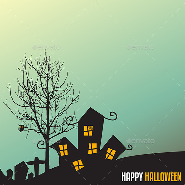 GraphicRiver Halloween Background 8861033