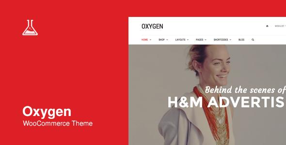 Oxygen - WooCommerce WordPress Theme