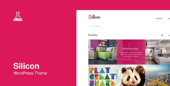 Silicon - Responsive WordPress Theme