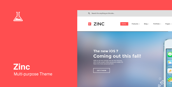 Zinc - Multi-purpose WordPress Theme - Corporate WordPress