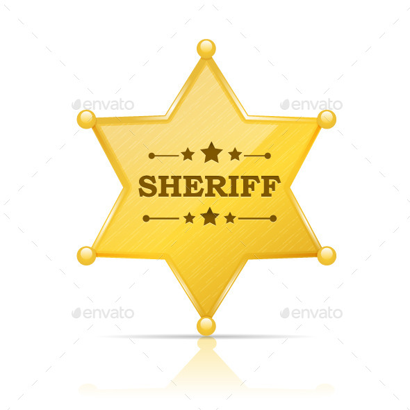 GraphicRiver Sheriff Badge 8861731