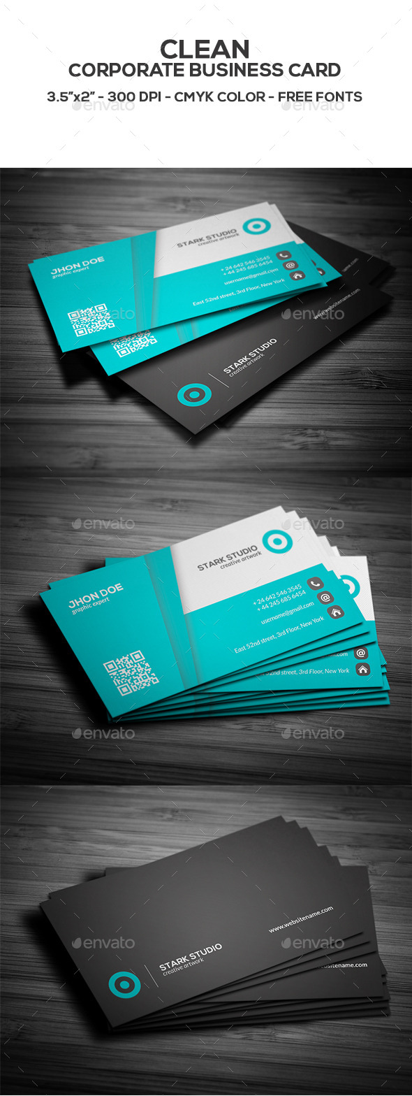 GraphicRiver Corporate Business Card 8861808