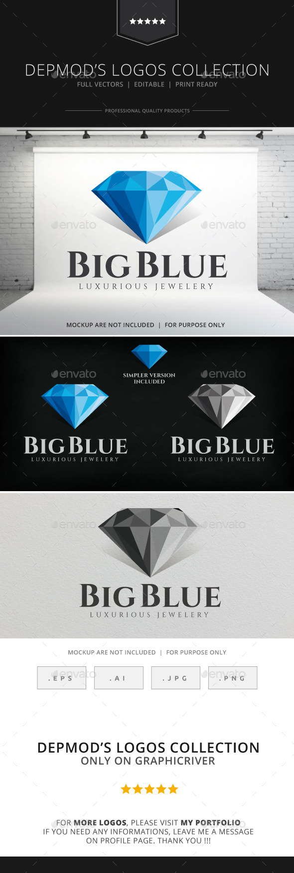 GraphicRiver Big Blue Logo 8861949