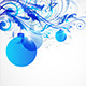 Blue Christmas Abstract Background - GraphicRiver Item for Sale