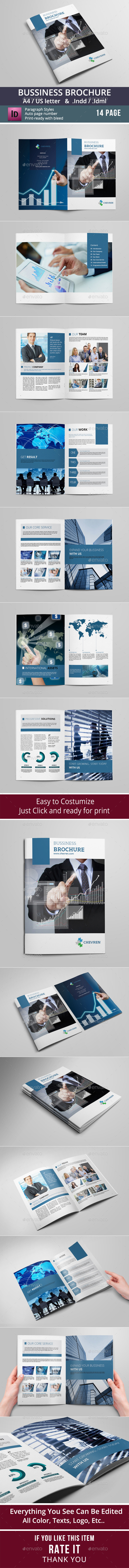 GraphicRiver Business Brochure Template 8862553