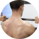 Man at the Gym Training Weight Lifting - VideoHive Item for Sale
