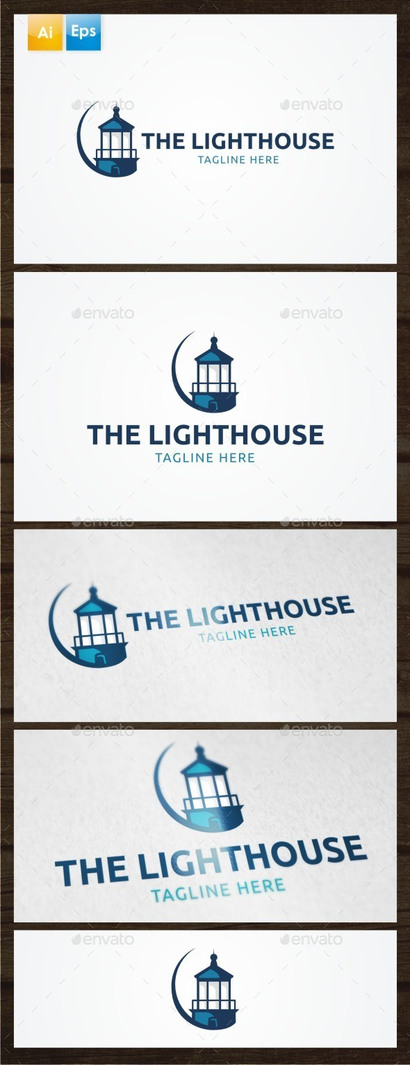 GraphicRiver The Lighthouse Logo Template 8862875