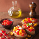 Italian bruschetta with tomatoes garlic olive oil - PhotoDune Item for Sale
