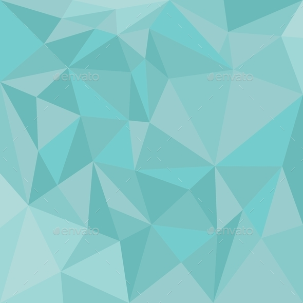 Mint Green Triangle Wrapping Surface Wallpaper Stock