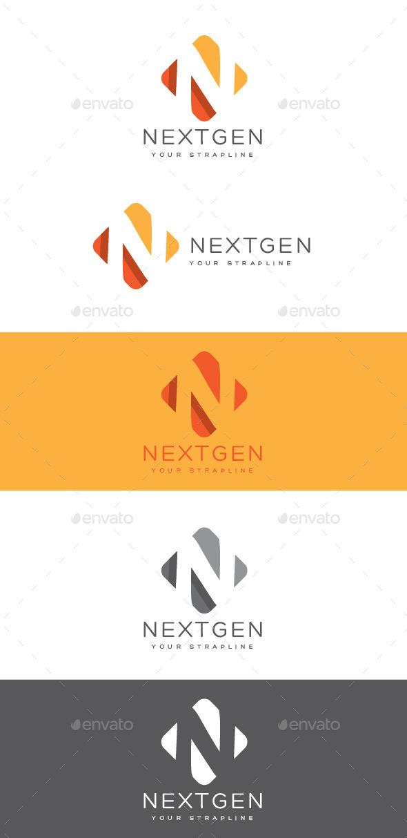 GraphicRiver Nextgen Letter N Logo 8863699
