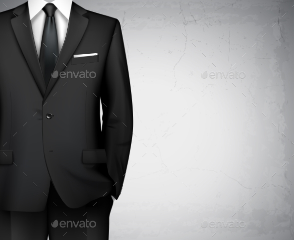 GraphicRiver Businessman Suit Background 8863817