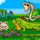 reptiles and amphibians group cartoon - PhotoDune Item for Sale