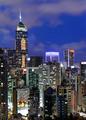 city at night, Hong Kong
