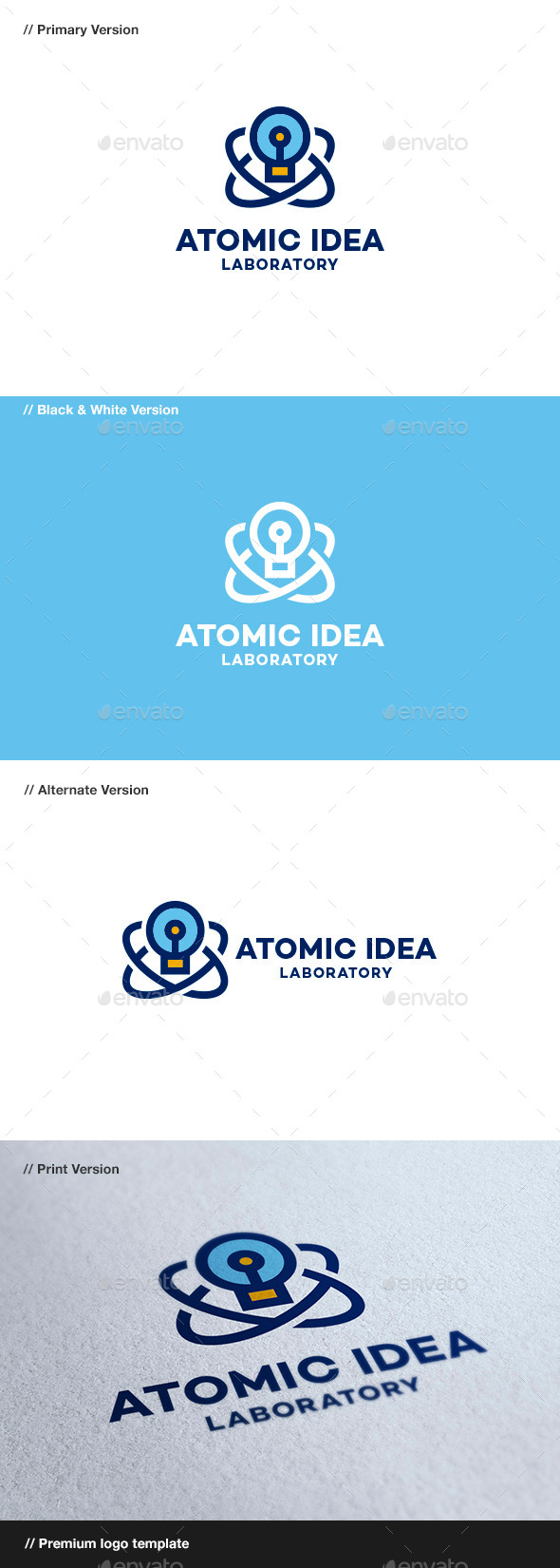 GraphicRiver Atomic Idea 8864141