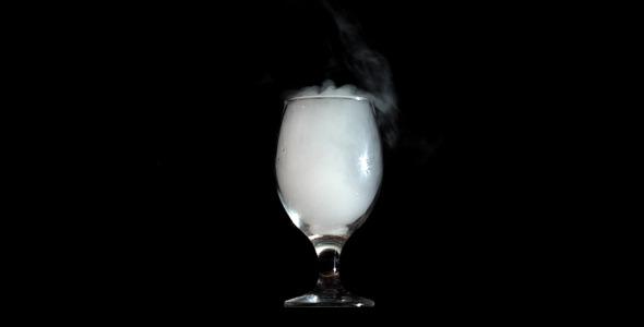 Glass and smoke
