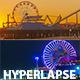 Ferris Wheel At Santa Monica Beach Pier Pack - VideoHive Item for Sale