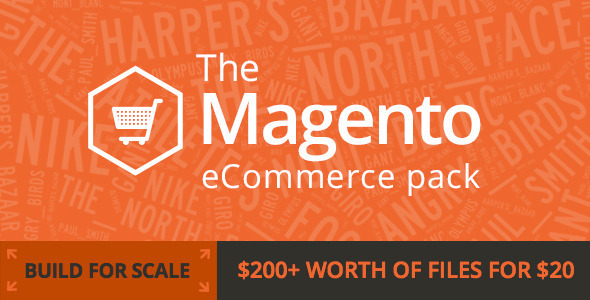 ThemeForest The Magento eCommerce Pack 8846981