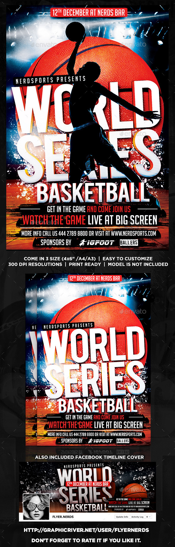 GraphicRiver World Series Basketball 8864437