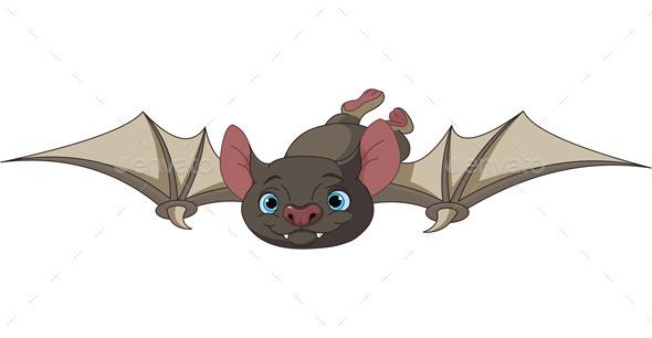 GraphicRiver Halloween Bat in Flight 8866327