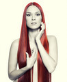 Nude woman with long red hair - PhotoDune Item for Sale