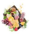 Watercolor Image Of  Appetizers - PhotoDune Item for Sale