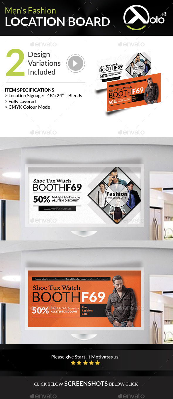 GraphicRiver Men Fashion Style Clothing Location Board 8866554
