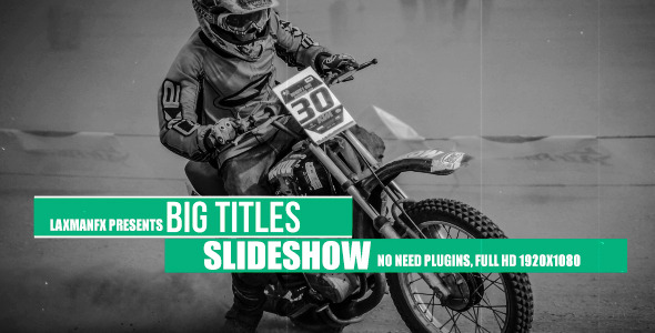Big Titles Slideshow