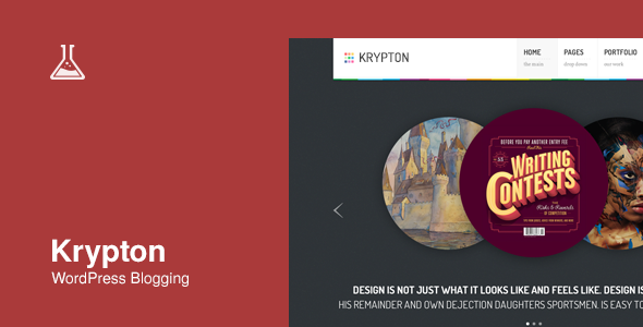 Krypton: Responsive Business and Portfolio Theme - Blog / Magazine WordPress