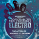 November Electro Flyer Template - GraphicRiver Item for Sale