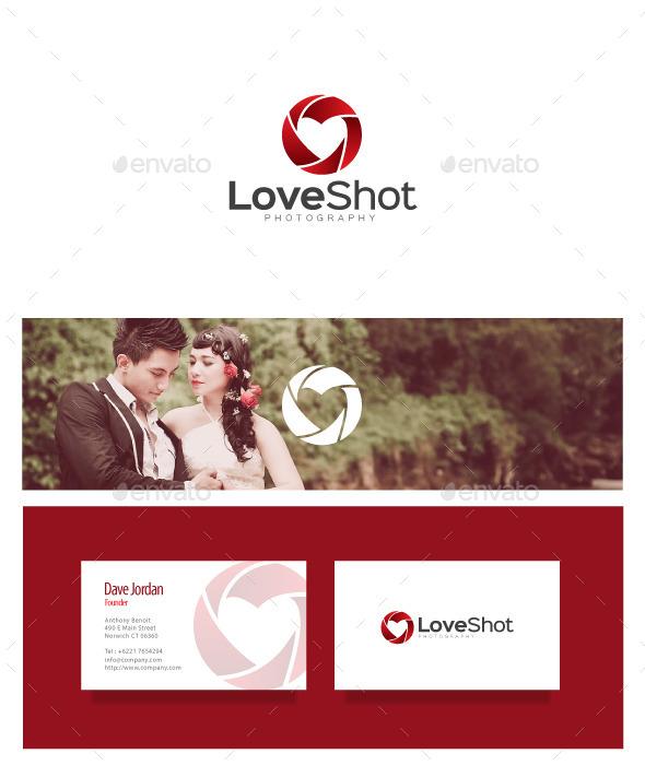 GraphicRiver Love Shot Logo 8867871