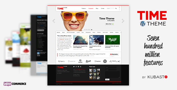 Time - Responsive WordPress Theme - Business Corporate